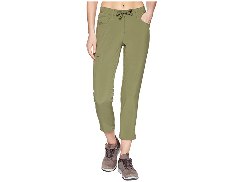 Toad&Co Jetlite Crop Pants (Thyme) Women