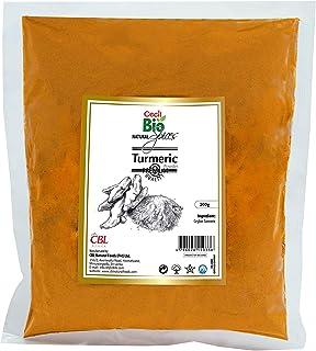 Cecil Bio - Cúrcuma natural en polvo, 200 g (pack de 3)