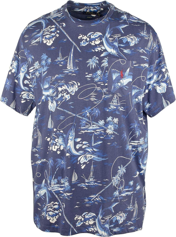 Polo Ralph Lauren Solid Color Short Sleeve Chest Pocket Cotton T-Shirt