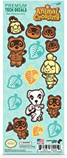 Controller Gear authentic and official Nintendo Animal Crossing tech decals (Set 2 Design)
