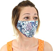 Air Pollution Mask for Dust, Smoke, Smog with N99 Filters. Adjustable Ear Straps and Nose Bridge - Washable and Reusable Comfy Cotton Respirator Face Mouth Mask