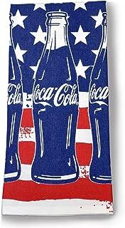 youngs Inc Coca Cola Bottles Tea Towel, Multi