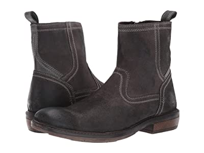 Roan Crestone II (Dark Grey Leather/Suede) Men