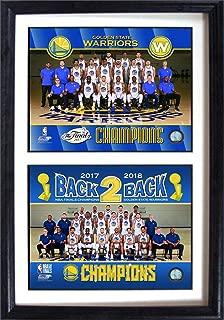 Golden State Warriors 2018 Celebration 12x18 Double Photo Frame