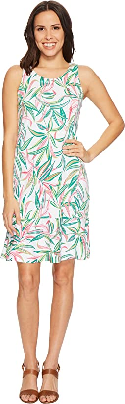 Lucky Bamboo Sleeveless Flounce Dress