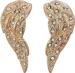 Angel Winds Stud Earrings