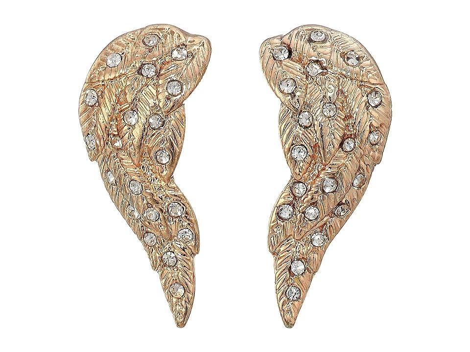 Betsey Johnson - Betsey Johnson Angel Winds Stud Earrings
