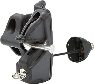 LokkLatch Deluxe Keyed Alike Lockable Gate Latch D&D Technologies LLDAB-KSA Black
