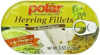 MW Polar Herring, Mustard Sauce, 3.53-Ounce (Pack of 18)