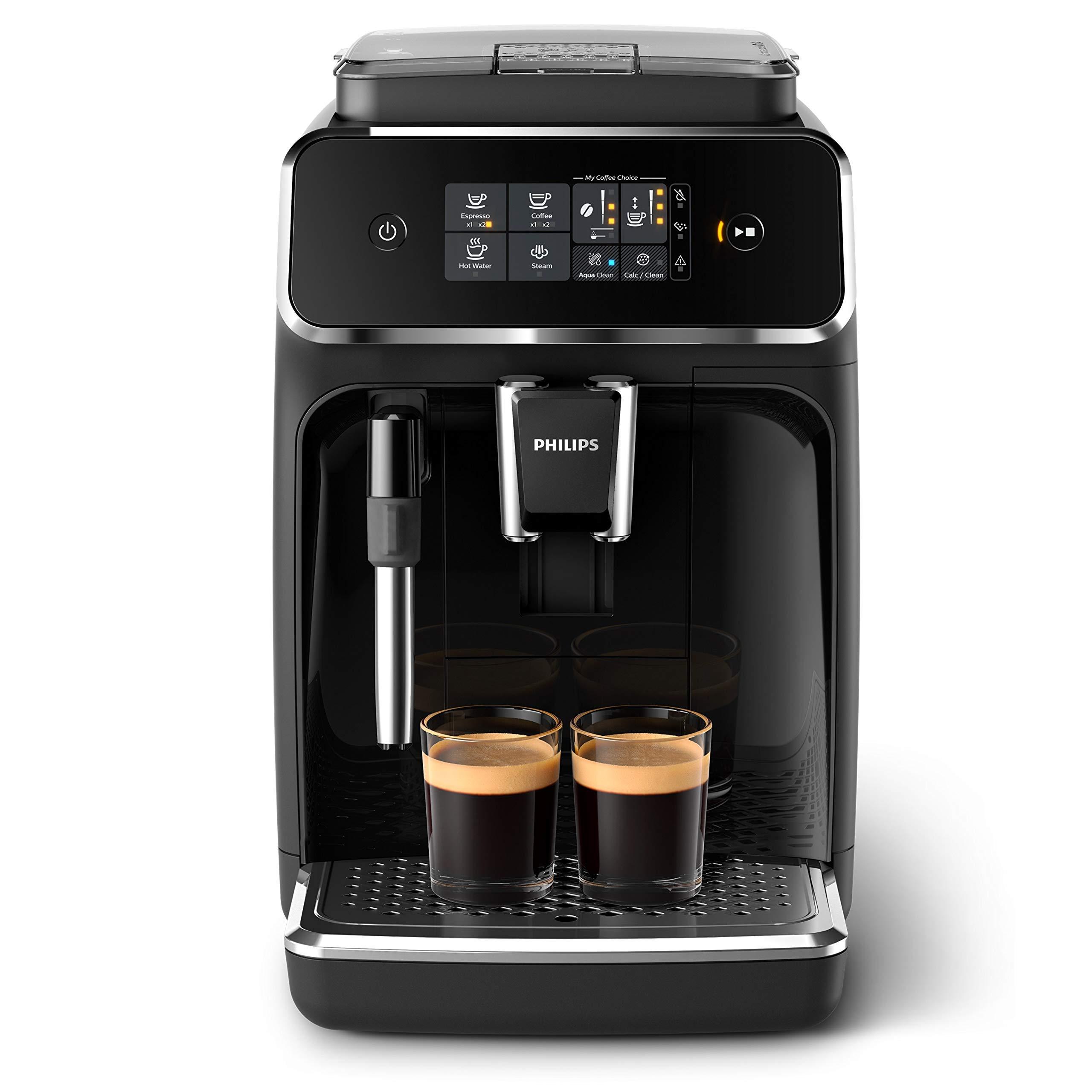 Philips Cafetera Espresso, color negro mate: Amazon.es: Hogar
