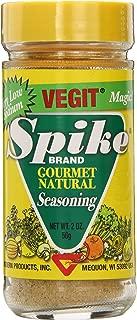 Spike Gourmet Natural Seasoning, Vegit, 2 Ounce (Pack of 6)