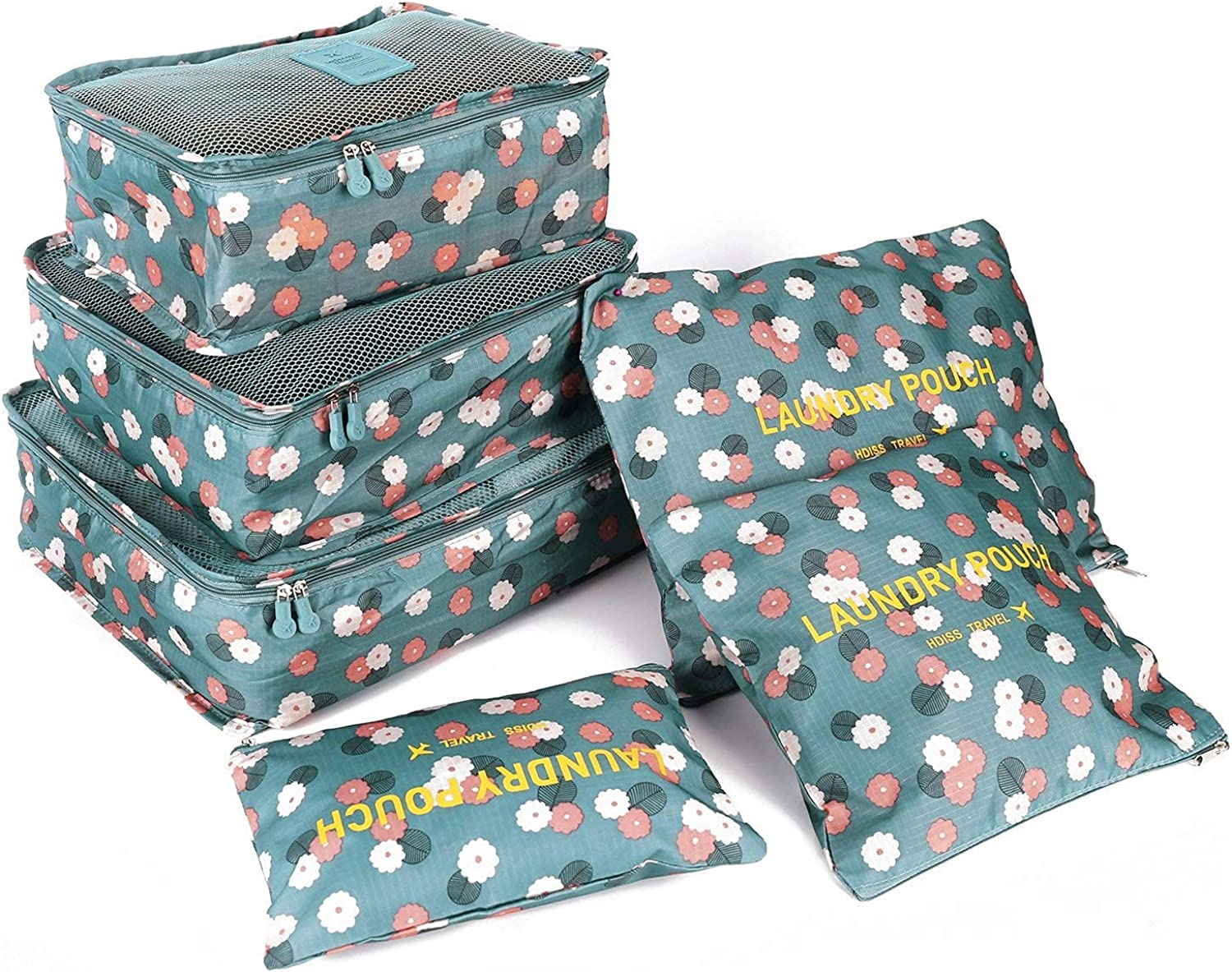 FiveRen Packing Cubes - 6Pcs Sales of SALE items from Atlanta Mall new works Travel Bags Luggage B for Organiser