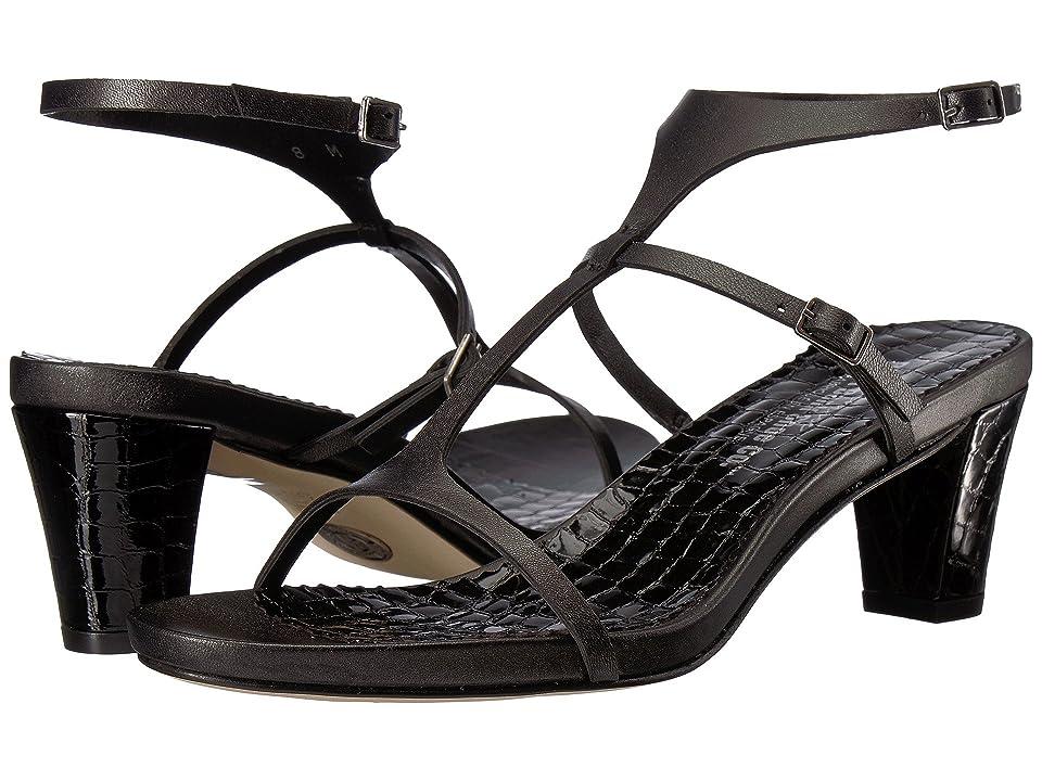 Right Bank Shoe Cotm Helena Sandal (Black) Women