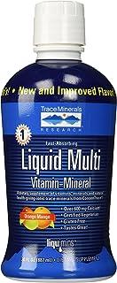 Liqumins Liquid Multi Vita-Mineral with ConcenTrace, Orange Mango, Packginag May Vary, 30 Ounce Bottle