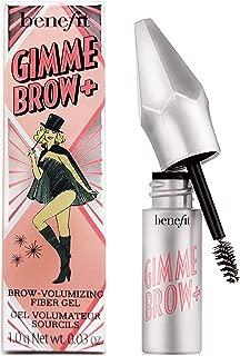 Benefits Gimme Brow+ Volumizing Fiber Eyebrow Gel #5 Cool Brown Black - Travel Size Mini