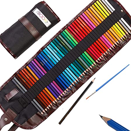 Stylish Colouring Pencil Set in Case with Sharpener Lid