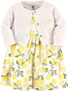 Girl Cotton Cardigan and Dress
