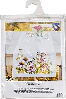 Vervaco Punto de Camino de Mesa en Primavera, Flores Digitalis