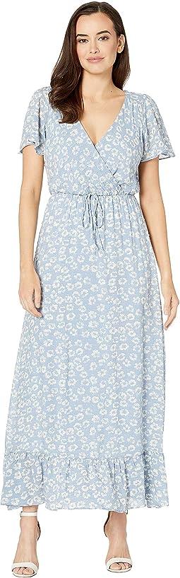 Zahra V-Neck Maxi Dress