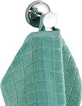 WENKO Power-Loc Wall Uno Arcole-Towel, kledinghaak, zonder boren, zilverglanzend, 4,7 x 5,8 x 5,8 cm