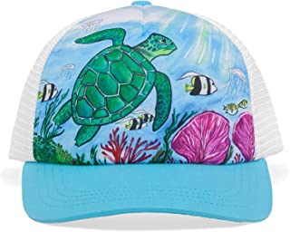 Sunday Afternoons Kids & Baby Kids Artist Series Trucker Cap, Sea Turtle, One Size
