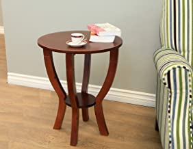 Frenchi Home Furnishing Lewis Wood End Table
