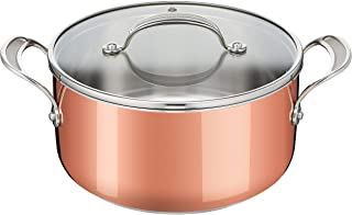 Tefal Jamie Oliver Triply Copper E49046 Cooking Pot Stainless Steel/Aluminium/Copper