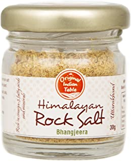 Original Indian Table Himalayan Rock Salt - Bhangjeera (30g)|Seasoning|Omega 3 Rich|Good For Digestion