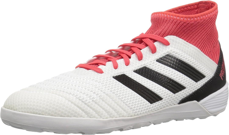 Adidas unisex-Pour des hommes Ace Tango 18.3 in, blanc Core noir Real Coral, 8.5 M US