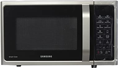 Samsung 28 L Convection Microwave Oven (MC28H5025VS/TL, Silver, slimfry)