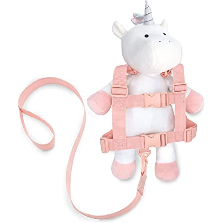 Travel Bug Toddler Character 2-in-1 Safety Harness (Unicorn - White/Pink/Rainbow)