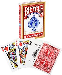 Bicycle Rider Back International Standard Index Oyun Kartı, Mavi/Kırmızı