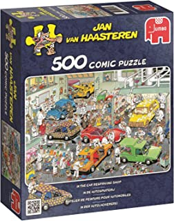 JUMBO Jan Van Haasteren in The car respraying Shop Jigsaw Puzzle (500 Piece)