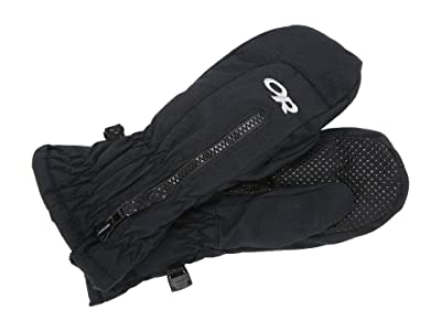 Outdoor Research Kids Adrenaline Mitts (Toddler) (Black) Over-Mits Gloves
