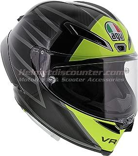 AGV Pista GP RR - Essenza 46 Valentino Rossi - Gloss Carbon/Yellow - Motorcycle Helmet (ML)