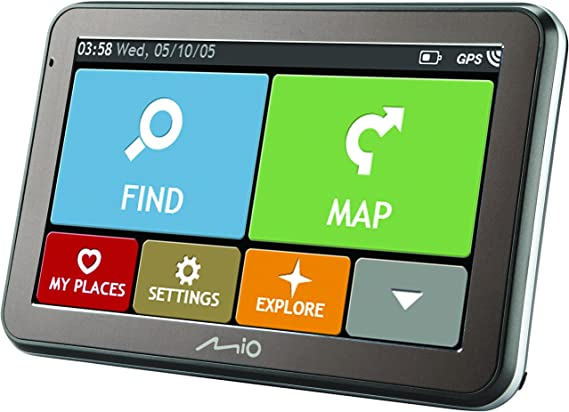 Mio Spirit 8500 Lm Navigation Schwarz Karten Gesamt Eu Navigation