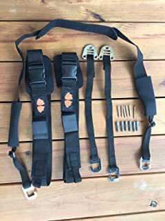 Penguin Feet SUP Sling N Hang - Easy to use SUP/Surf Board & Paddle Carrier + Storage Hooks