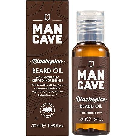 ManCave Blackspice Beard Oil 50 ml (Packaging May Vary)