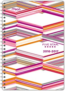 Five Star Academic Year Weekly/Monthly Planner/Appointment Book, Aug 2016-July 2017, 5-1/2