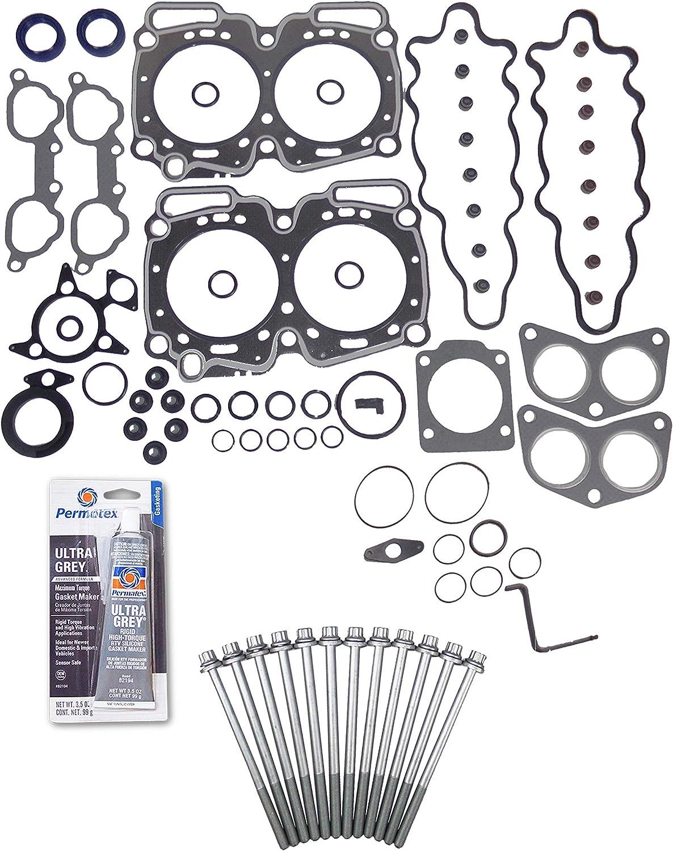 Head Gasket Set Popular shop is the lowest price challenge Limited time sale Bolt Kit Fits: Impreza 90-98 2.2L Legacy Subaru