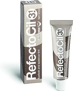 REFECTOCIL Cream Hair Tint Light Brown .5 oz