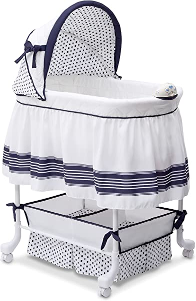Delta Children Smooth Glide Bassinet Marina