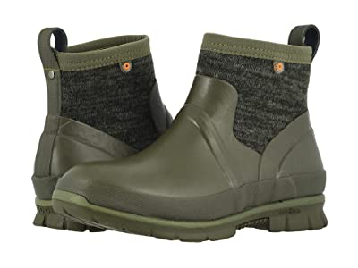 Bogs Crandall Low Knit (Olive Multi) Women