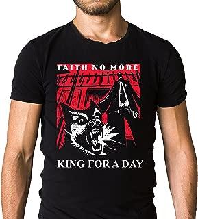 Faith No More King for a Day T-Shirt - Mr.Bungle - Mike Patton - Fantomas - Black (Medium)