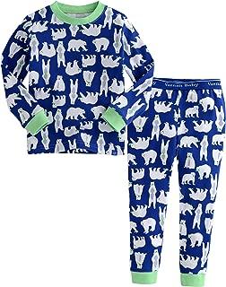 Vaenait baby 12M-7T Kids Boys Sleepwear Pajama 2pcs Set Pongdang-Star