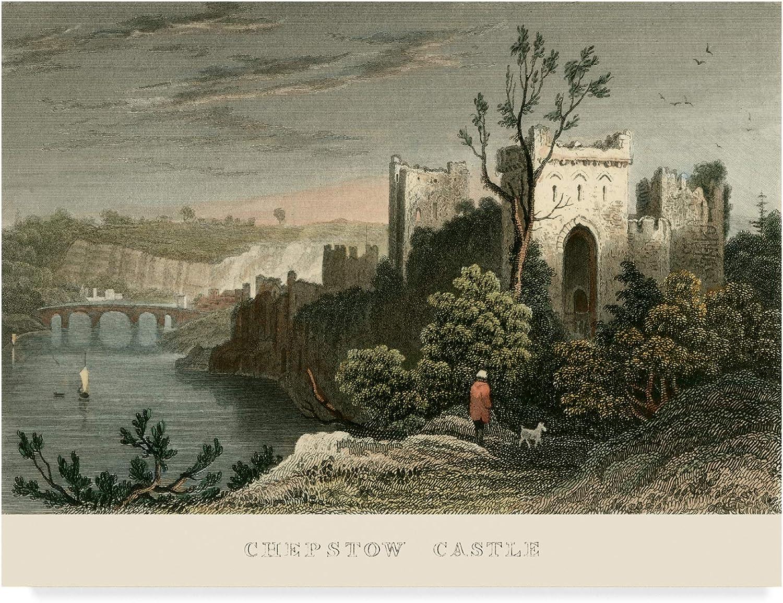 Trademark Fine Art Chepstow Castle Art by T. Allom, 14x19