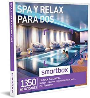 comprar comparacion SMARTBOX - Caja Regalo - SPA Y RELAX PARA DOS - 1260 experiencias como masajes relajantes, circuitos de aguas, spas...