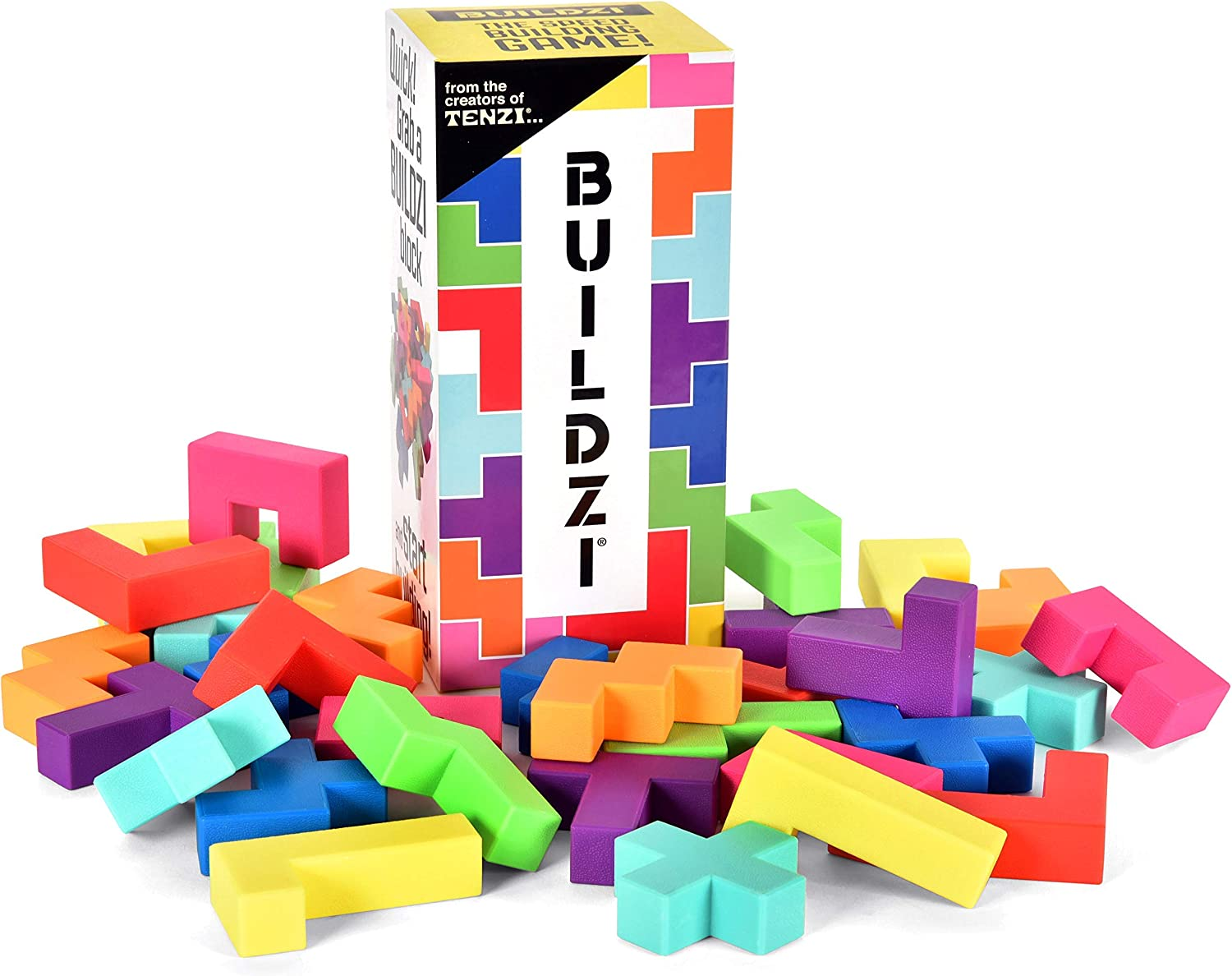 BUILDZI by TENZI - The Fast Max Special price for a limited time 46% OFF Game Building for Block Stacking