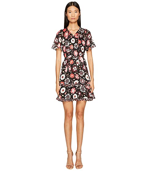 d9da03fdc4 Kate Spade New York Casa Flora Flutter Sleeve Dress at 6pm