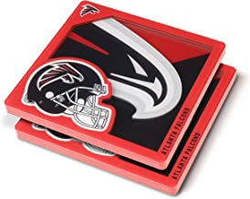 YouTheFan NFL Miami Dolphins 3D Logo Series Coaster